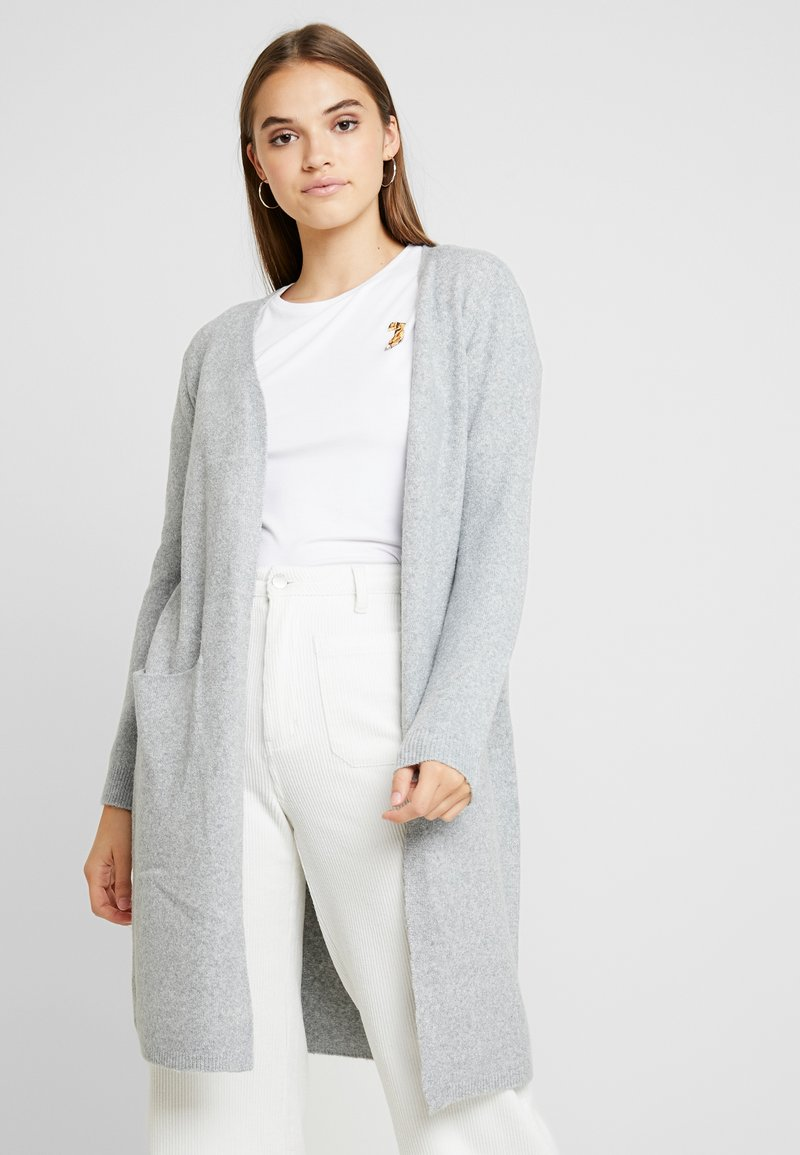 Vero Moda - VMDOFFY - Strickjacke - light grey melange