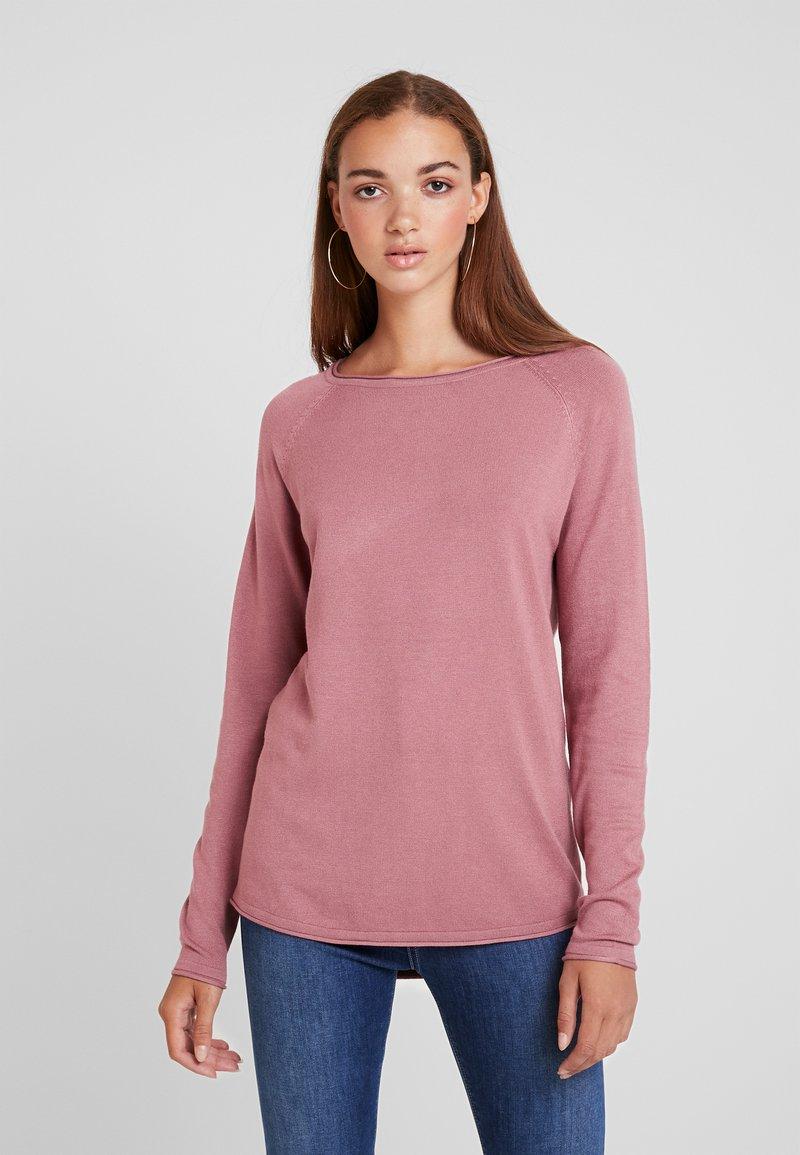 Vero Moda - VMNELLIE GLORY  - Neule - mesa rose