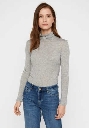 VMCLARA - Sweatshirt - light grey melange