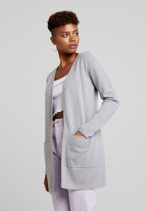 VMDIANE OPEN CARDIGAN - Kardigan - light grey melange