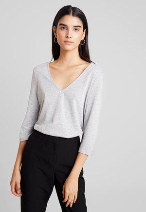 VMMALENA - Långärmad tröja - light grey melange