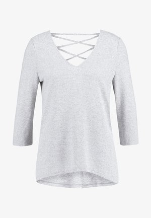 VMMALENA - Long sleeved top - light grey melange