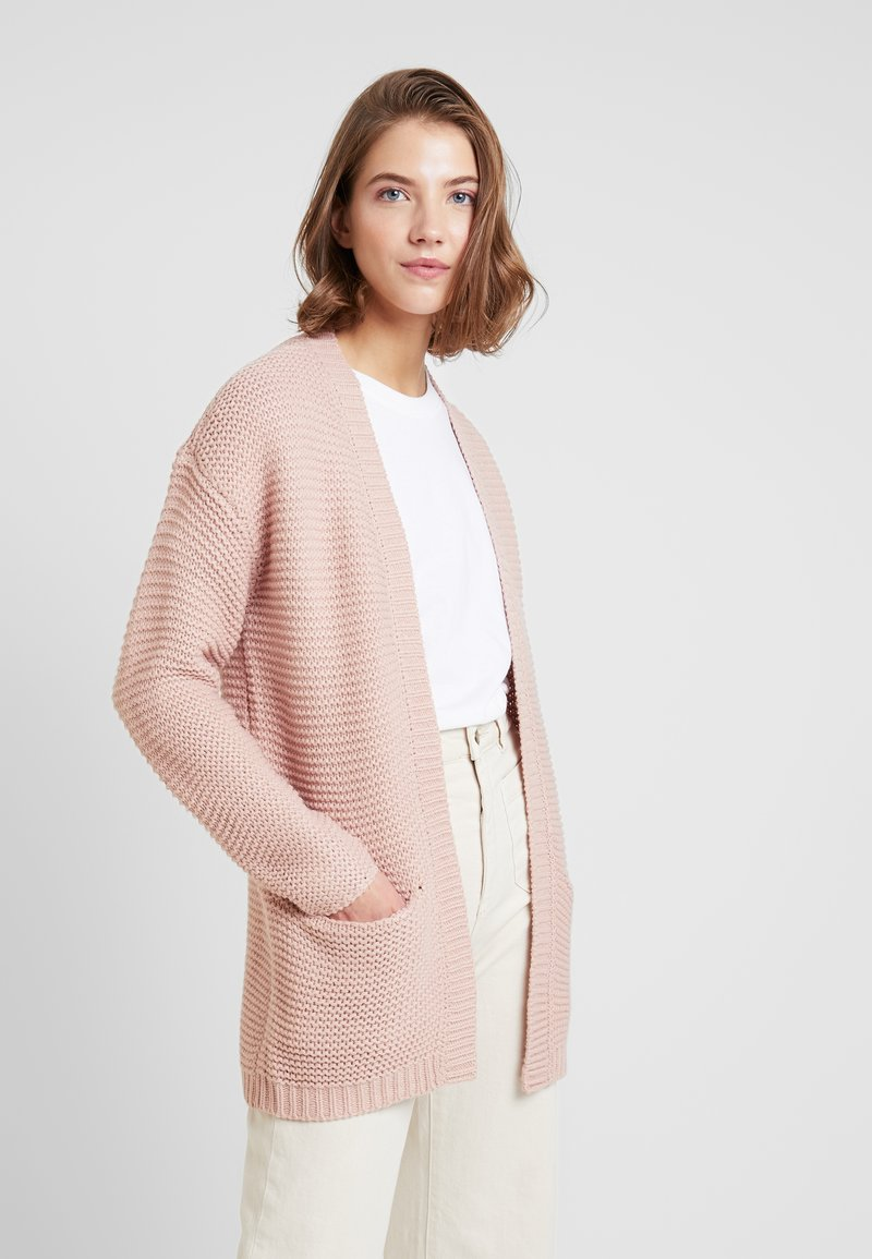 Vero Moda - VMNO NAME CARDIGAN  - Kardigan - misty rose