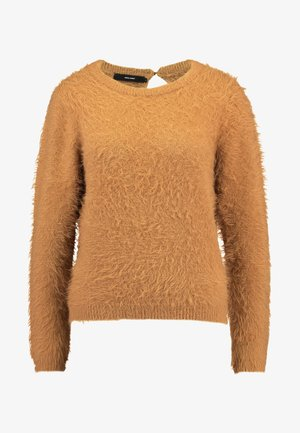 VMPOILU - Sweter - tobacco brown