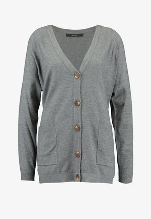 VMCHOU KARIS BUTTON CARDIGAN - Cardigan - medium grey melange