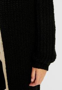 Vero Moda - VMPOCA OPEN COATIGAN - Cardigan - black - 5