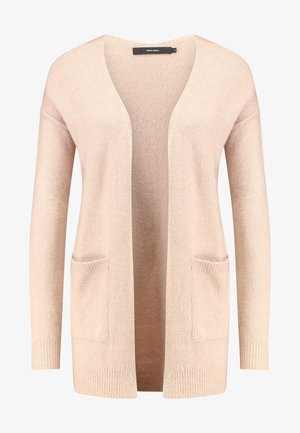 VMLUCI OPEN CARDIGAN - Kofta - misty rose