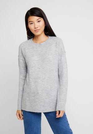 VMLUCI O-NECK LONG - Svetr - light grey melange