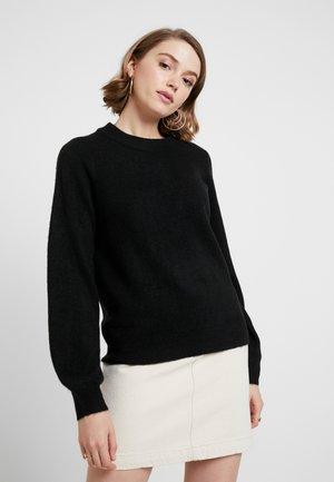 VMABBIA O-NECK SOLID - Pullover - black