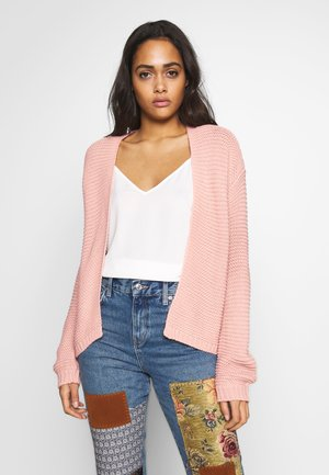 VMNO NAME NO EDGE CARDIGAN - Cardigan - misty rose
