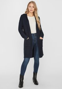 Vero Moda - VMNO NO EDGE - Cardigan - navy - 1