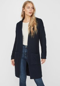 Vero Moda - VMNO NO EDGE - Cardigan - navy - 0