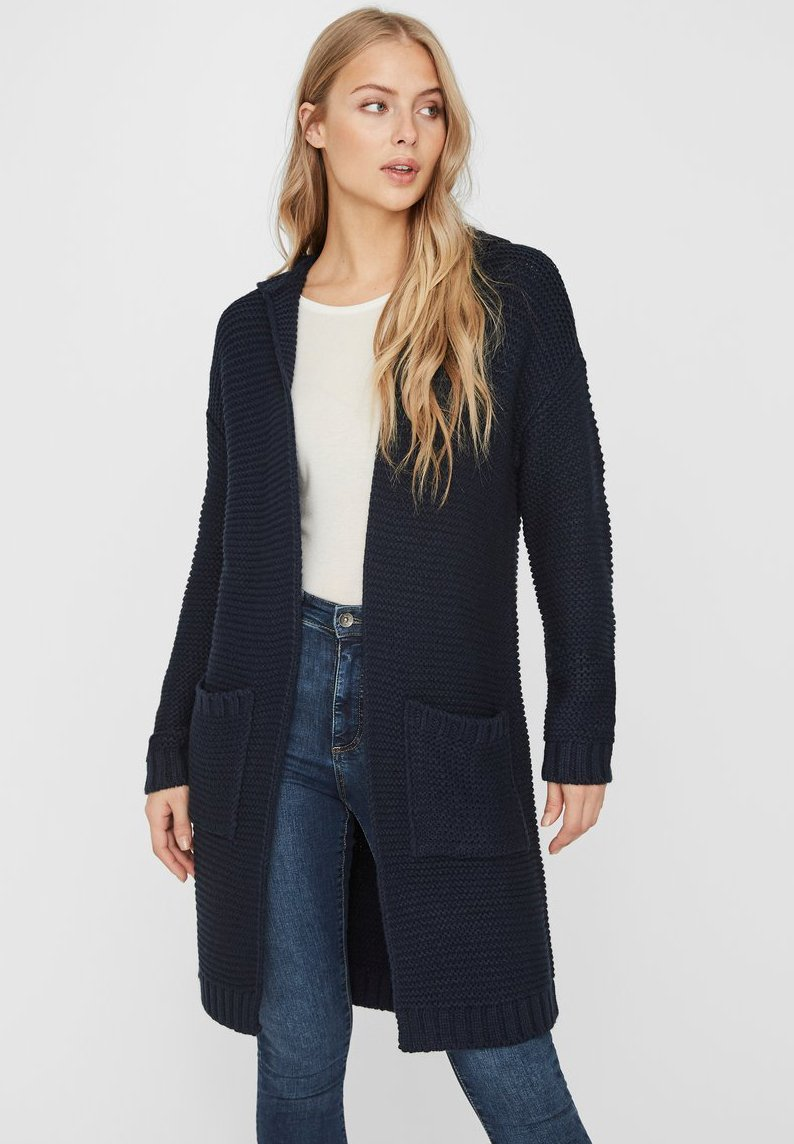 Vero Moda - VMNO NO EDGE - Cardigan - navy