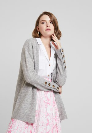 VMAGOURA OPEN CARDIGAN - Cardigan - light grey melange