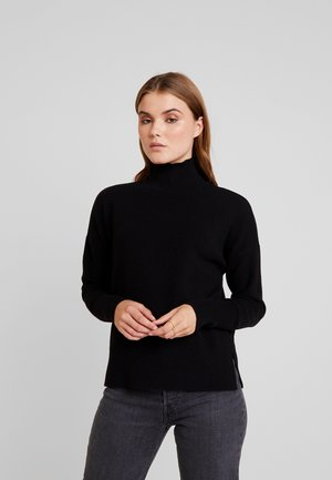 VMNIMA HIGHNECK - Strickpullover - black
