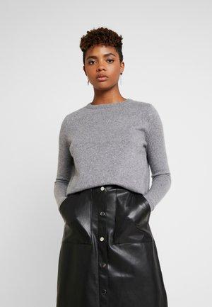 VMDOUCE FRENCH O-NECK - Sweter - medium grey melange
