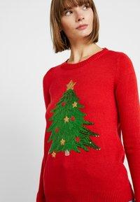 Vero Moda - VMSHINY CHRISTMAS TREE - Jumper - chinese red - 4