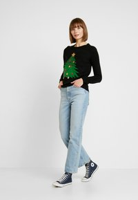 Vero Moda - VMSHINY CHRISTMAS TREE - Jumper - black - 1