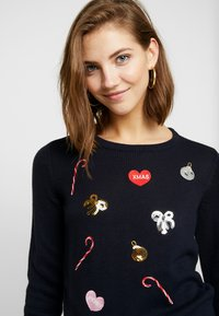 Vero Moda - VMCHRISTMASPATCH - Jumper - night sky - 3