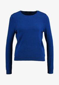 Vero Moda - VMHAPPY BASIC O-NECK - Maglione - sodalite blue - 3