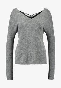 Vero Moda - VMRANA - Jersey de punto - medium grey - 4