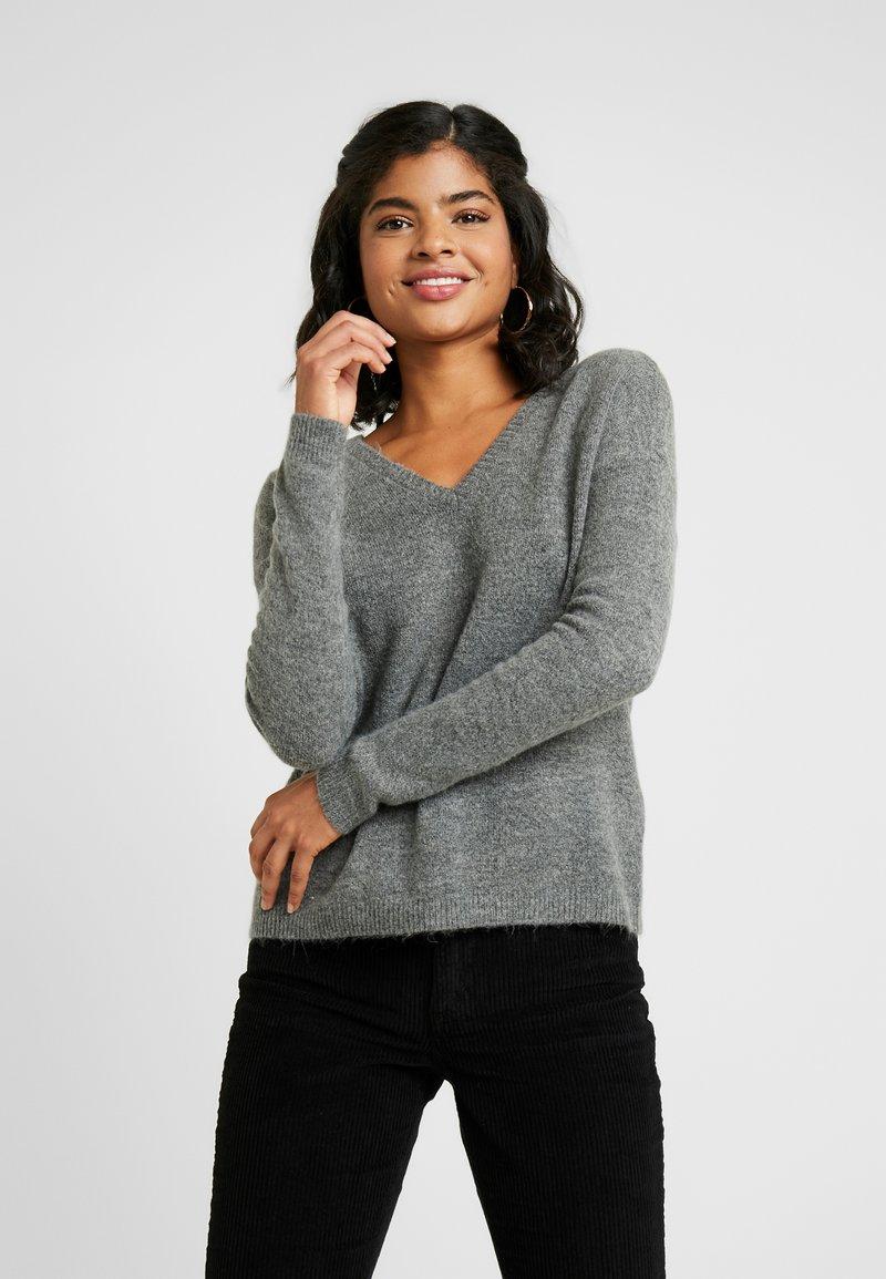 Vero Moda - VMRANA - Jersey de punto - medium grey