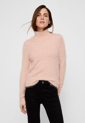 Strikpullover /Striktrøjer - light  pink