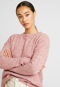 Vero Moda - Svetr - mesa rose/melange - 3