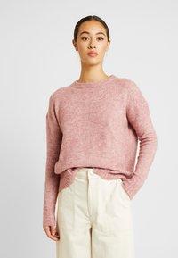 Vero Moda - Svetr - mesa rose/melange - 0