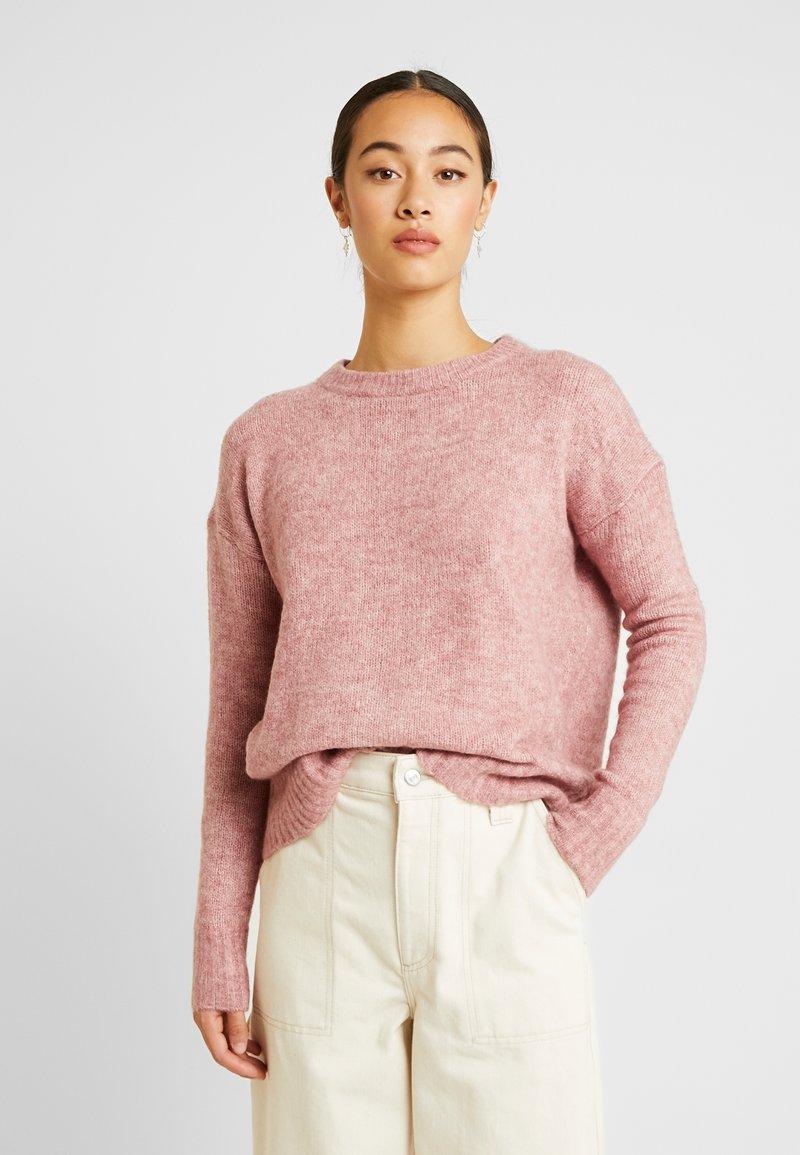 Vero Moda - Svetr - mesa rose/melange