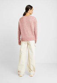 Vero Moda - Svetr - mesa rose/melange - 2