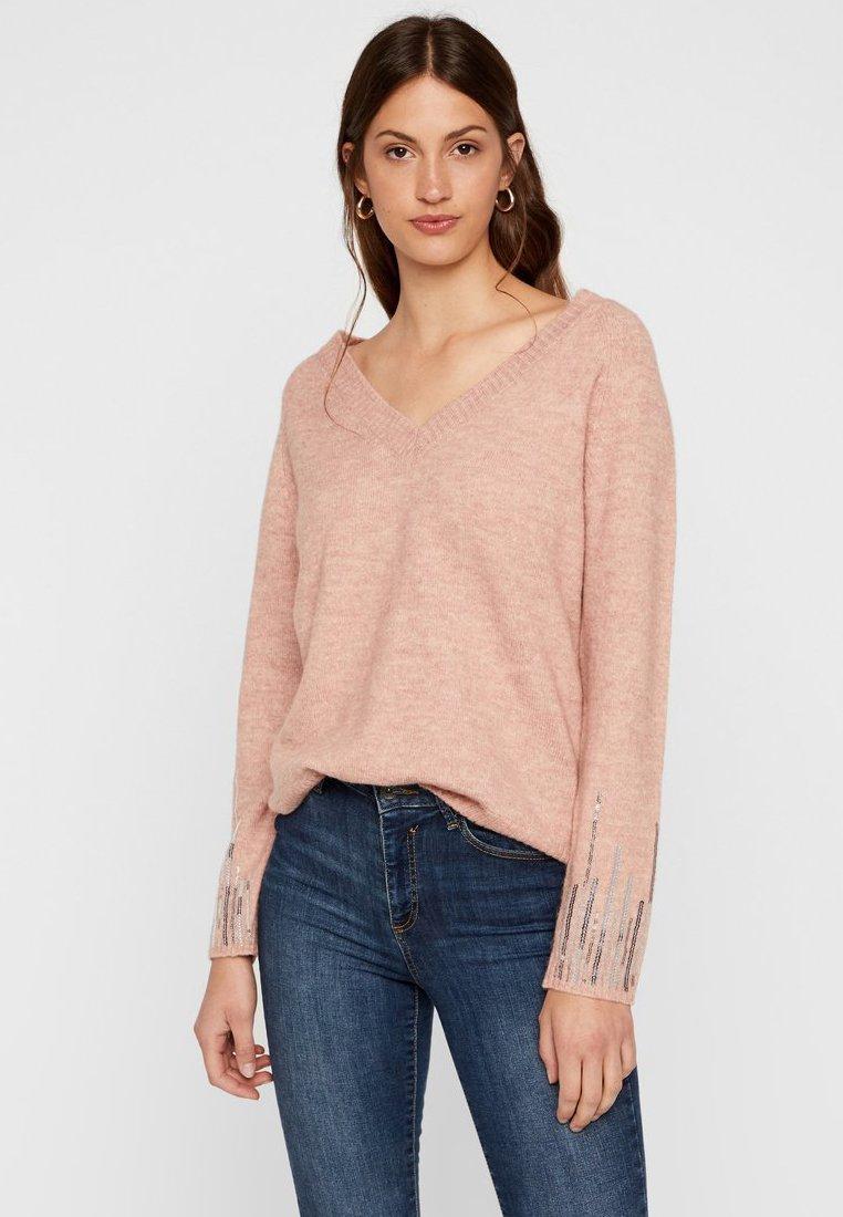 Vero Moda - Pullover - misty rose