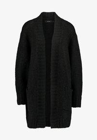Vero Moda - VMKAKA OPEN COATIGAN - Cardigan - black - 4