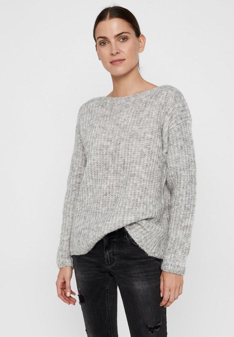 Vero Moda - Neule - light grey