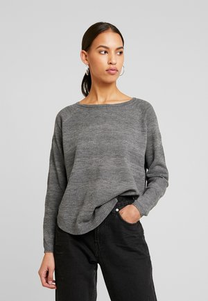 VMCAVA STRUCTURE - Maglione - medium grey melange