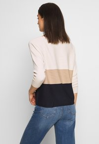 Vero Moda - VMNELLIE GLORY - Jumper - birch/night sky - 2