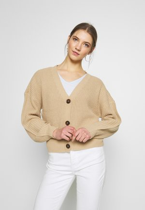 VMLEA V-NECK  - Cardigan - tan