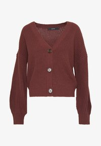 Vero Moda - VMLEA V-NECK  - Cardigan - sable