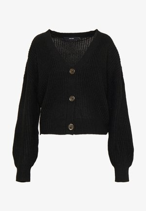VMLEA V-NECK  - Cardigan - black