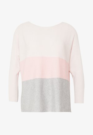 VMNELLIE GLORY BLOUSE COLOR - Jumper - nude