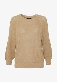 Vero Moda - Sweter - beige - 3