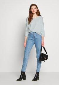 Vero Moda - VMBRIANNA  - Jersey de punto - slate/birch melange - 1