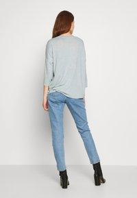Vero Moda - VMBRIANNA  - Jersey de punto - slate/birch melange - 2