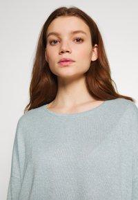 Vero Moda - VMBRIANNA  - Jersey de punto - slate/birch melange - 3