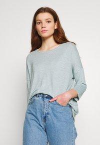 Vero Moda - VMBRIANNA  - Jersey de punto - slate/birch melange - 0