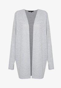 Vero Moda - VMMOLLY LS CARDIGAN - Cardigan - light grey melange - 3