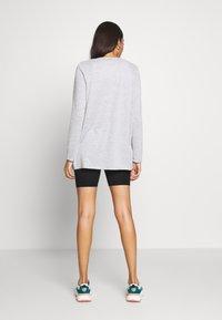 Vero Moda - VMMOLLY LS CARDIGAN - Cardigan - light grey melange - 2