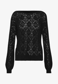 Vero Moda - VMCARRIEANNE PATTERN  - Pullover - black - 4