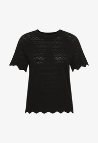Vero Moda - VMEKAJA O-NECK  - Camiseta estampada - black - 4