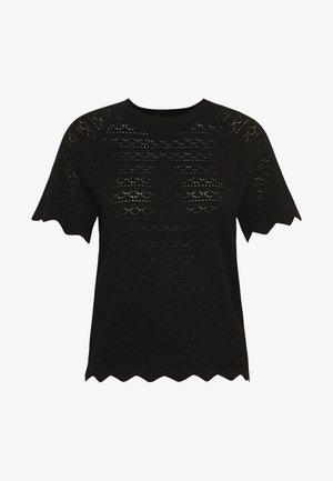 VMEKAJA O-NECK  - Print T-shirt - black